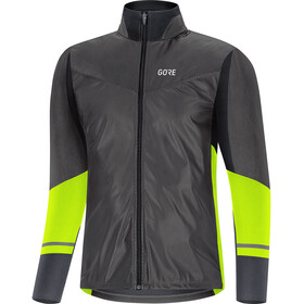 GORE WEAR R5 Gore-Tex Infinium Soft Lined Camisa Manga Larga Hombre, black/neon yellow